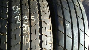 ST235 80 16 two good trailer tires for sale for Sale in Phoenix, AZ
