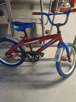 Kids Bicycle - Transformers Red/Blue for Sale in San Jose,  CA