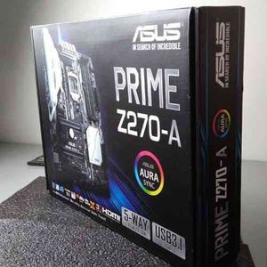 Asus Prime z270a motherboard for Sale in Newton, MA