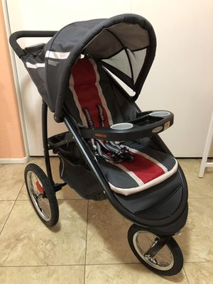 Graco FastAction Fold Jogger Click Connect stroller for Sale in Peoria, AZ