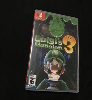 Luigi Mansion 3 for Sale in Waterbury, CT