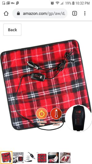 Mini Heated Car Travel Blanket for Sale in Queens, NY