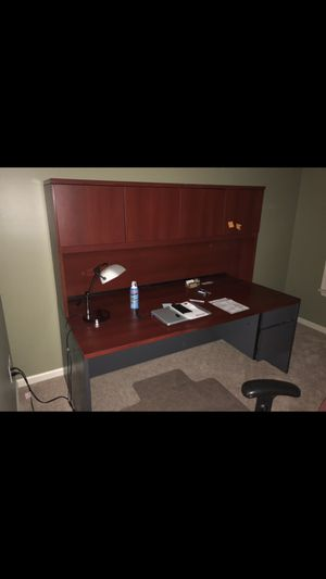 Desk + Filing cabinet for Sale in West Chester, PA