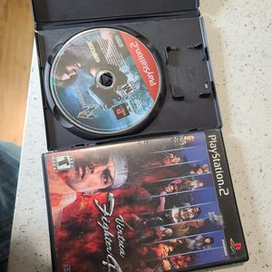Ps2 Resident Evil 4 Virtua Fighter 4 for Sale in Queen Creek, AZ