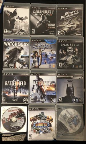 PS3 Games for Sale in Katy, TX