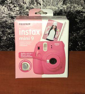 Fujifilm Instax Mini 9 - Flamingo Pink Instant Film Camera - Untested for Sale in Philadelphia, PA