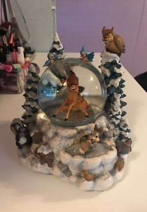 Disney Bambi Music box collectible statue for Sale in Kissimmee, FL