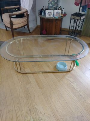 Nice glass coffee table for Sale in Las Vegas, NV