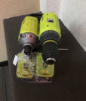 Ryobi p239 impact driver and drill for Sale in Salem, OR