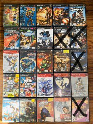 Playstation 2 ps2 games for Sale in Tampa, FL