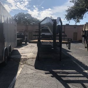 Enclosed trailers and trucks 3 car ramp sold together or one pice make offer for Sale in Orlando, FL