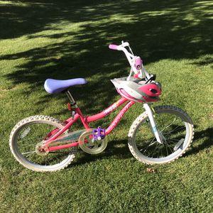 "Manga Girls 20"" Bicycle with Schwinn Riding Helmet for Sale in Leavenworth, WA"