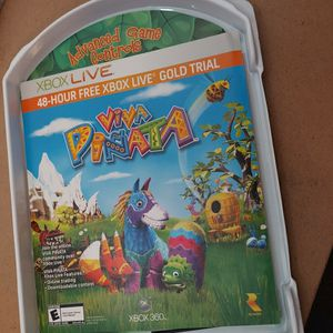 Viva Pinata -- with Bonus game (Microsoft Xbox 360, 2006) for Sale in Laveen Village, AZ