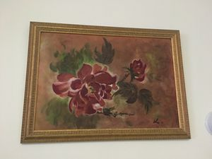 Flower painting. for Sale in Boston, MA
