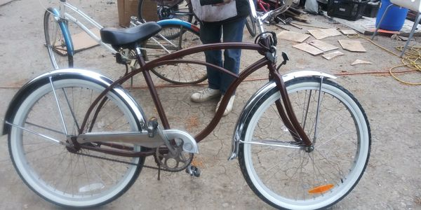 Beach cruiser type Bike