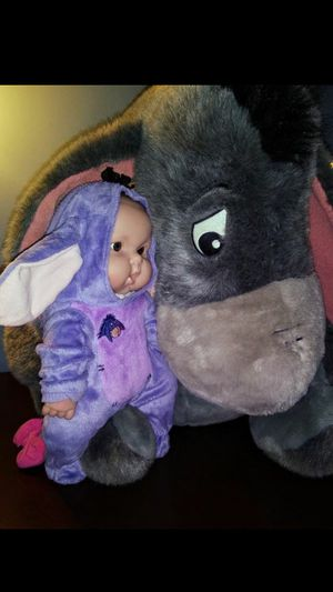 Eeyore Character Plush, 2 Feet Tall, Disney for Sale in Raleigh, NC