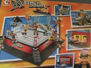 Wwe smack down Wrestling building block set for Sale in Wauwatosa, WI