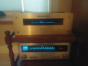 Vintage Marantz amp and tuner for Sale in Bremerton, WA