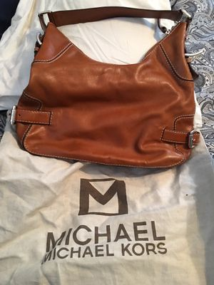 Michael Kors hobo bag - leather for Sale in Syosset, NY