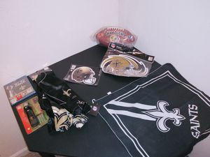 New Orleans Saints Superbowl Fan pack for Sale in Lacon, IL