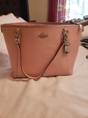 Coach pink tote bag for Sale in Tampa, FL