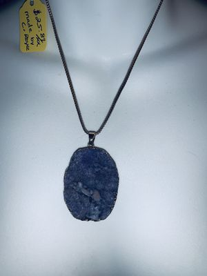 Blue crystal necklace for Sale in Portland, OR
