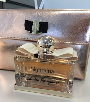 Ferragamo Signorina perfume 3.4 oz for Sale in Philadelphia, PA