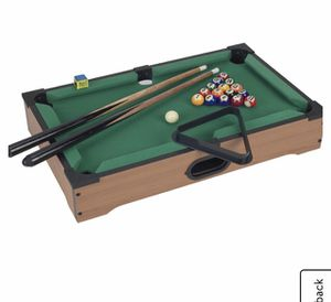 Hey Play Pool Kids Mini Table for Sale in Albuquerque, NM