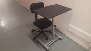 Laptap desk and office chair for Sale in Huntington Beach, CA