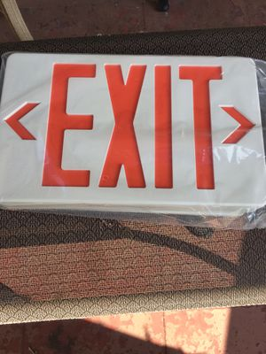 EXIT SIGN for Sale in Portsmouth, VA