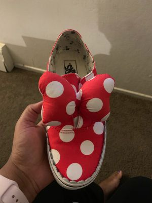 Mother & daughter Minnie mouse vans for Sale in Richmond, CA