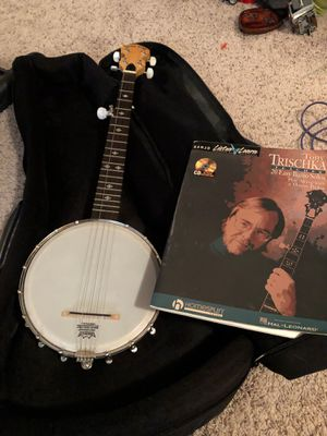 Banjo and case and playbook and case for Sale in MERRIONETT PK, IL