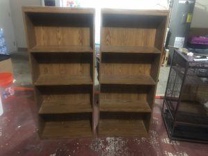 2 medium bookshelves for Sale in Indian Rocks Beach, FL