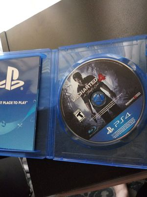 Uncharted 4 for Sale in Whittier, CA