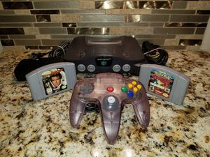 N64 Bundle w/ Official Nintendo Controller + Expansion Pack + 2 Games 007 Pokemon for Sale for sale  Keyport, NJ