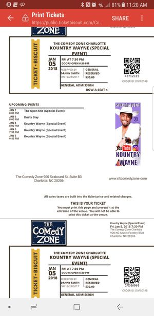 Kountry Wayne Tickets for Sale in AL, US