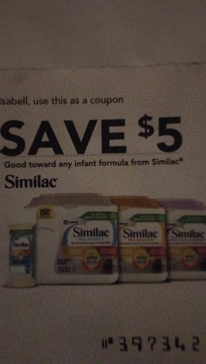 Similac coupons $10 free for Sale in Orlando, FL