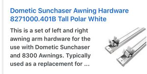 Sunchaser awning polar tall white for Sale in Union, NJ