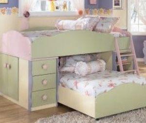 Ashley furniture Twin loft bed for Sale in Visalia, CA