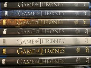 Blu-ray Game of Thrones season 1-7 for Sale in South El Monte, CA