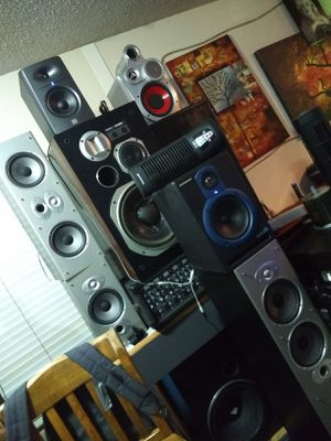 Speakers for Sale need all gone. for Sale in Pflugerville, TX