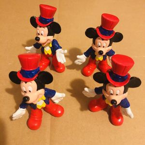 4 Mickey Mouse Figures for Sale in Fontana, CA