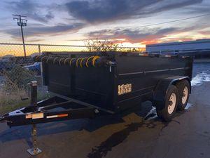 8x12x2 Dump Trailer for Sale in Visalia, CA