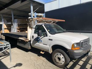 1999 Ford V8 Diesel Truck F550 XL Super Duty For Out of State Only for Sale in Montclair, CA
