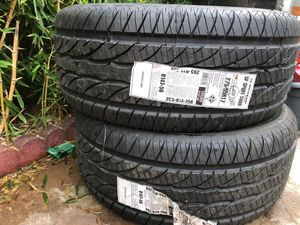 2 New Tires Dunlop SP Sport 5000 275/55R17 $180 for Sale in San Jose, CA