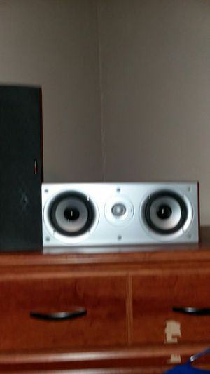 Polk audio center channel speaker cs-1 for Sale in San Marcos, TX