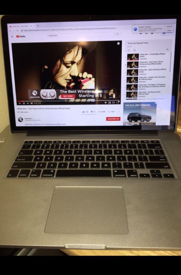 "RETINA MacBook Pro intel Core i7 , 15 inch Retina 2013/2014, High technology LCD Display 16 Gb, 256 Gb SolidSD, 15"", Sierra, Final Cut..SALE S749. Bo"