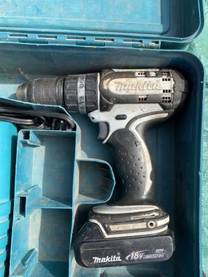 Makita hammer/driver drill for Sale in Blue Ridge, VA