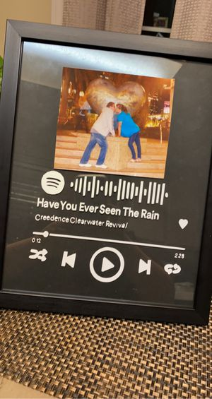 Customized Spotify Frame for Sale in Tracy, CA