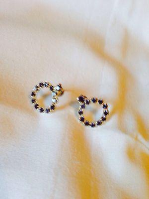 Purple diamond earrings for Sale in La Vergne, TN